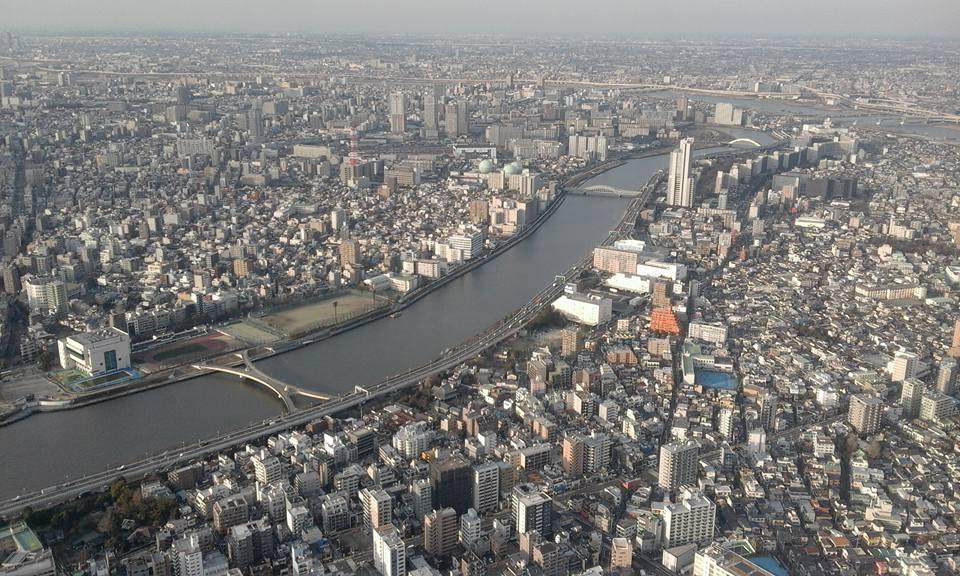 Panorama Tokyo - skytree