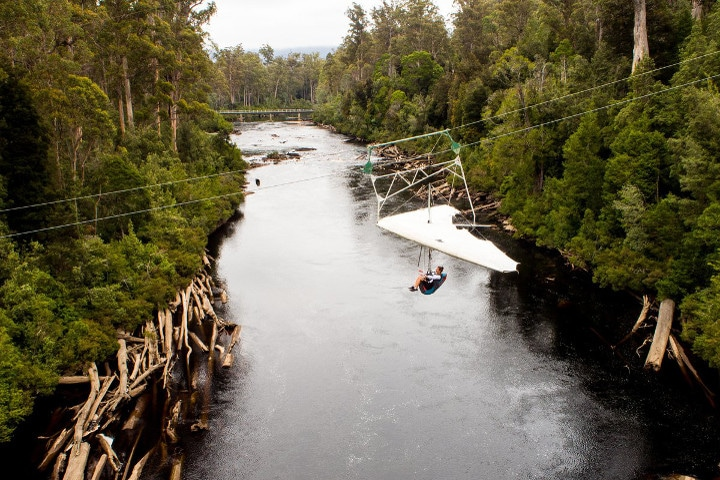 Eagle hang glider - tahune - auberges de jeunesse insolites en Australie