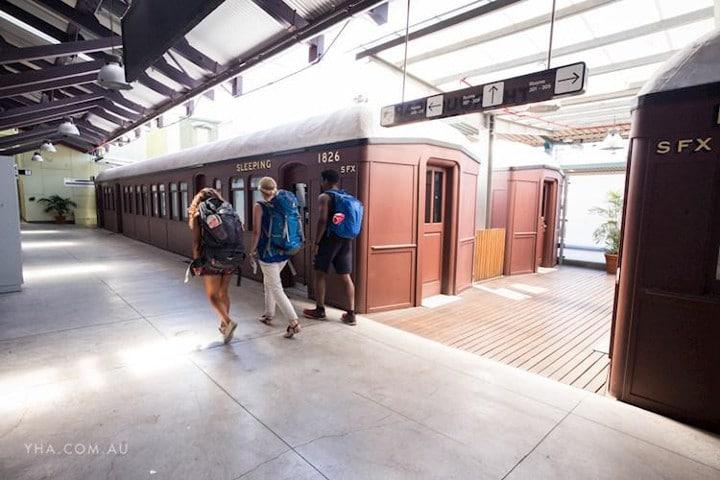 Sydney Railway station - auberges de jeunesse insolites en Australie