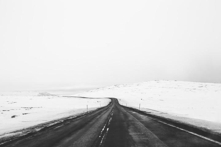 route -neige - nouvelle zelande