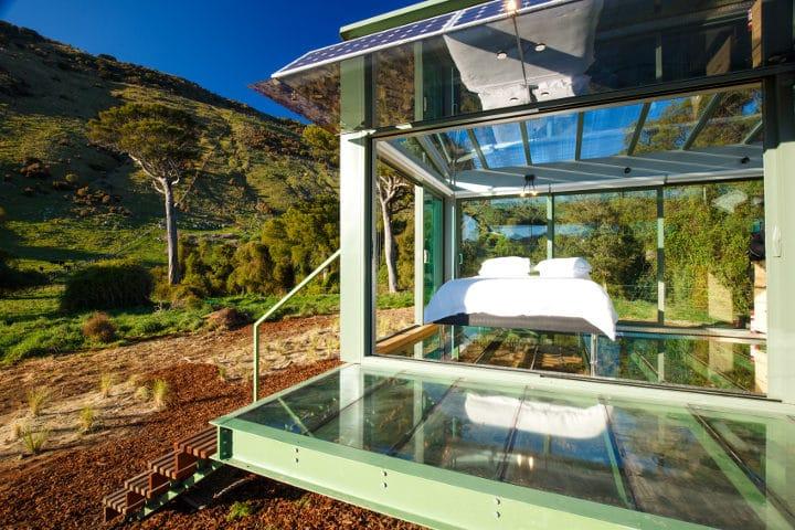 Purepods Little river - hébergements d'exceptions en Nouvelle-Zélande