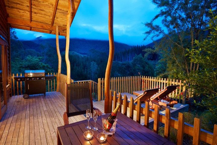 The Resurgence - terrasse - hébergements d'exceptions en Nouvelle-Zélande