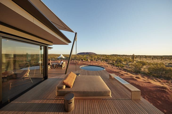 Longitude 131° - hôtel australie - Ayers Rock