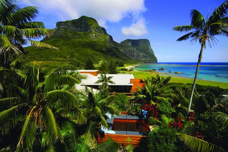 Capella Lodge - Hotel Australie - Lord Howe Island