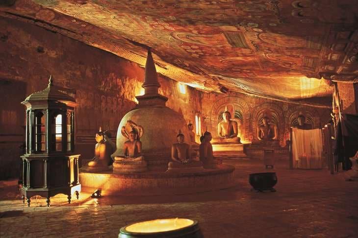 Idées de voyages multi-destinations Asie Sri lanka Dambulla