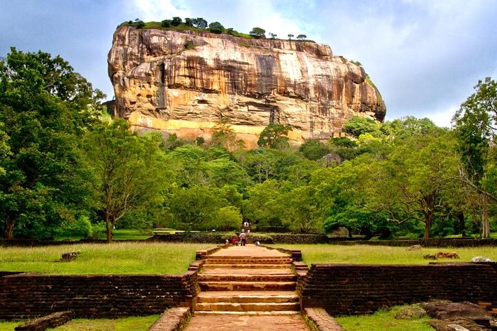 Sigiriya au Sri Lanka