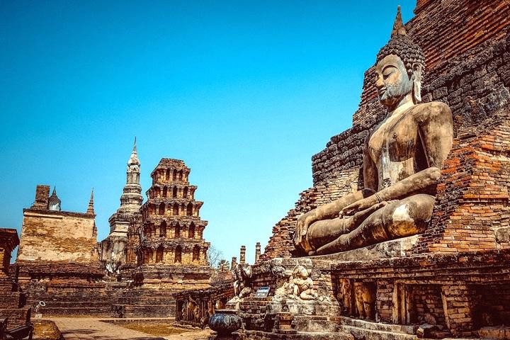 Wat Chai en Thailande
